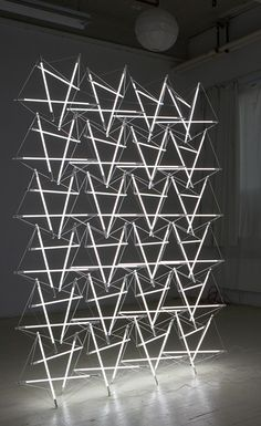 Michal Maciej Bartosik | 'Tensegrity Space Frame Lighting Structure' | 2012
