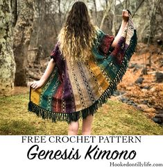 Free Crochet Pattern : Genesis Kimono — Hooked On Tilly