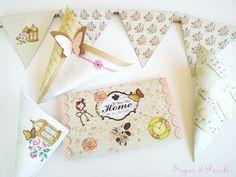 . Decor Crafts, Printables, Tableware, Blog, Sugar, Pearls, Decoration, Decor, Dinnerware