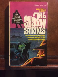 The Shadow Strikes, Maxwell Grant (Belmont)