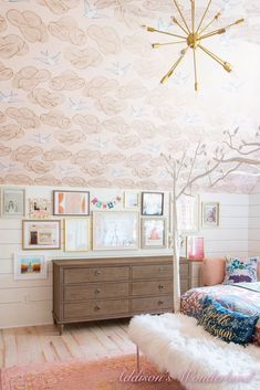 Although it may not officially be Summer until late June, school is out and it's now a cool 95 degrees every day here in … Tile Bedroom, Master Bedroom, Bathroom, Anthropologie Wallpaper, Small Wall Decor, Minimalist Room, At Home Store, Home Decor Items, Home Decor Inspiration