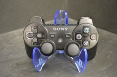 PLAYSTATION PS3/PS4 Controller Stand Laser Cut & Engraved Acrylic.