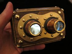 Steampunk Iphone 3D Stereoscope  Viewer by WillRockwell on Etsy, $300.00