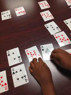 Make 10 Math Coach's Corner: A Mathemagician's Game for Making Ten. Is it math or is it magic? Check out this nifty activity for making tens that requires nothing more than a deck of playing cards. Math Card Games, Making Ten, Math Coach, Math Addition, Addition Facts, Math School, Homeschool Math, Homeschooling, Math Intervention