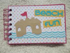 4x6 Beach Mini Scrapbook Album