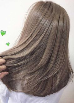 51 Gorgeous Hair Color Worth To Try This Season balayage hair color, light brown hair color ideas, h Ash Brown Hair Color, Brown Blonde Hair, Ash Grey Hair, Hair Color Asian, Hair Colour Grey, Ash Hair Colour, Asian Ash Brown Hair, Light Ashy Brown Hair, Korean Hair Color Brown