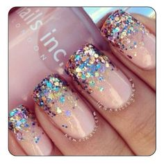 Love the colour and sparkles!