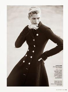 visual optimism; fashion editorials, shows, campaigns & more!: paris, c'est chic: hana jirickova by david bellemere for vogue thailand september 2014
