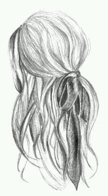 Cool hair drawing