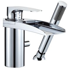 Browse waterfall bath taps at bathstore. Rust resistant and available in a wide range of styles, you'll find the perfect waterfall taps for your bath. Waterfall Bath Taps, Mini Waterfall, Water Tap, Open Water, Bath Shower Mixer Taps, British Home, Basin Mixer, Water Systems