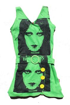 The #Adverts  #Punk Rock Dress Printed by ThePirates