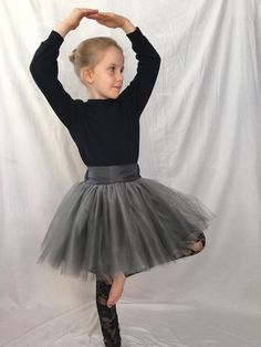 Silvery gray tulle skirt and black lace leggings set. This dynamic duo fits a size Perfect for that holiday occasion! Black Lace Leggings, Grey Tulle Skirt, Skirts For Sale, Stretch Lace, Gray, Holiday, Fashion, Moda, Vacations