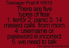 This applies to adults too... Anytime I miss a call from my mom I instantly get anxious! Haha