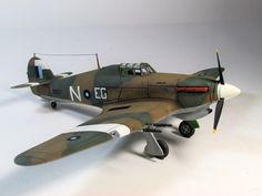 Airfix 1/72 Hawker Hurricane / Sea Hurricane Mk IIc (A02096) No. 34 Squadron, Royal Air Force South East Asia Command, Palel Airfield, Imphal, India November 1943/April 1944