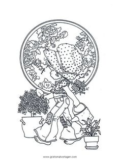 Spring Coloring Pages For Adults And Teenagers