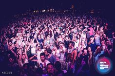 People under the Main Stage