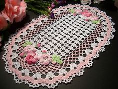 If I could crochet,this would be one of the first things I would make. I think it is quite beautiful!