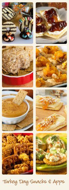 Thanksgiving Snack Recipes #thanksgiving