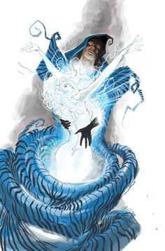 @iFanboy weekly sketch up pick for me is Yildiray Cinar's Cloak Fantastic #comicsart #comics