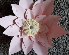 Plantilla de flor de papel #18