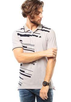 cc542eae07e21 Camiseta Polo Gris Goco - Compra Ahora