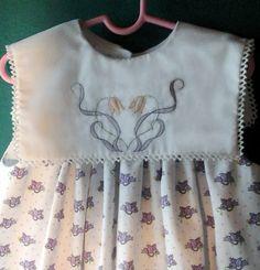Vintage Style, Vintage Fashion, Vintage Crafts, Cutwork, Smock Dress, Sewing For Kids, Frocks, Smocking, Bespoke