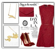 """""""Yaely Jewelry 31"""" by velida-husic ❤ liked on Polyvore featuring Gianvito Rossi, Elie Saab and Dorothy Perkins"""