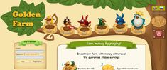 Golden Farm - online investment game with real money withdrawal. Buy birds, sell eggs for real money. Golden Farm, Farm Online, Buy Birds, Cryptocurrency Trading, Buy Bitcoin, Day Trading, Crypto Currencies, Earn Money Online, Games To Play