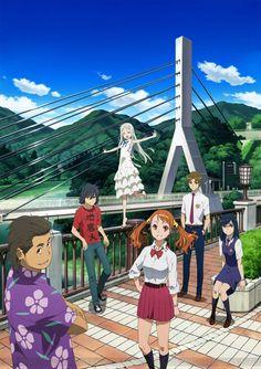 Ano Hi Mita Hana no Namae wo Bokutachi wa Mada Shiranai. (anohana: The Flower We Saw That Day) Sky Anime, Manga Anime, Anime Art, Anime Triste, Anime Films, Anime Characters, Best Rom Com Anime, Anime Amino, I Like Your Hair