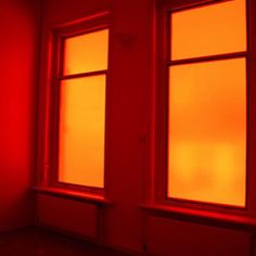 [an image of two windows with a dark orange tint covering them] Rainbow Aesthetic, Orange Aesthetic, Aesthetic Colors, Aesthetic Images, Aesthetic Wallpapers, Happy Colors, Warm Colors, Orange Tapete, Channel Orange