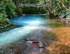 Río celeste  (lite blue river)