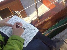 Kreativurlaub Schreibreise Ostsee. Kreatives Schreiben am Meer. http://www.moellerscript.de/650/ostseewind-im-schreibheft-warum-das-schreiben-eine-reise-wert-ist/