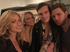 Image may contain: 5 people, indoor and closeup Katherine Mcnamara, Teen Wolf, Shadowhunters Season 3, Clary And Jace, Cassie Clare, Dominic Sherwood, Cassandra Clare Books, Clace, Shadow Hunters