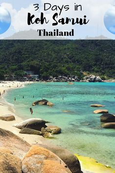 Heading to Koh Samui Thailand? Read on for the best 3 day itinerary and the best Koh Samui beaches! #kohsamuiwithkids #kohsamuiwithtoddlers