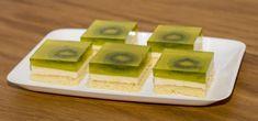 Kiwi pochoutkové řezy, recept, dessert recipe, Tortyodmamy.sk