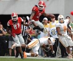 c6e2d3b41 Watch Todd Gurley hurdle a Tennessee defender