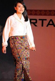 Beautiful textiles, formal dress for women (Kira)