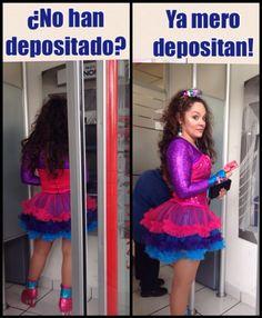 Tatiana ¿Ya depositaron?