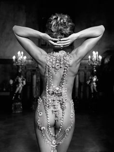 Of course.....with pearls...