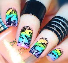 510 Best Intermediate Nail Art Design Ideas Images On Pinterest