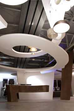 View the full picture gallery of Light Center Speyer - Corporate Architecture Natural Structures, World Religions, Modern Architecture House, Shop Interior Design, Midcentury Modern, Lighting Design, Indoor, How To Plan, Exhibition Space