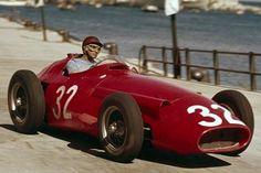 1954 Fangio in Maserati 250F