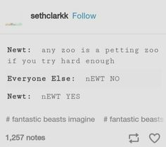 At first I thought of Newt from TMR lol