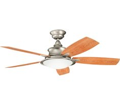 Kichler Cameron Fan 310104NI, at Del Mar Fans & Lighting, over 100,000 happy customers