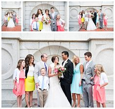perfect family wedding photo