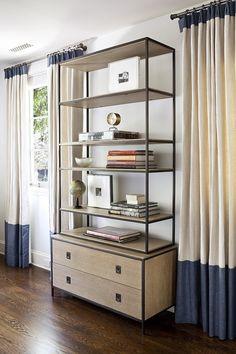 Open shelving etagere