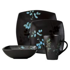 Home Eventide Bloom 16 pc. Dinnerware Set