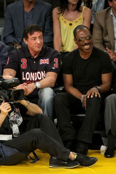 Eddie Murphy, Sylvester Stallone