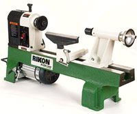 Rikon 70-100. Considered a best model mini-lathe