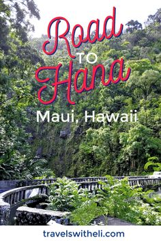 The Ultimate Guide to Maui's Road to Hana Stops. The best banana bread, waterfalls, black sand beaches, and how to drive the Road to Hana with kids. Road Trip With Kids, Family Road Trips, Travel With Kids, Family Travel, Hawaii Vacation Tips, Family Vacation Destinations, Beach Vacations, Travel Destinations, Maui Travel